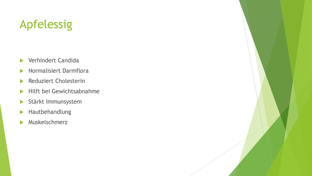 Apfelessig Verhindert Candida Normalisiert Darmflora