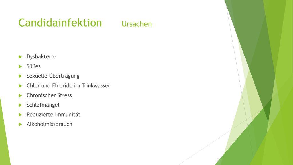 Candidainfektion Ursachen