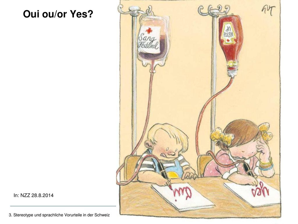 Oui ou/or Yes In: NZZ