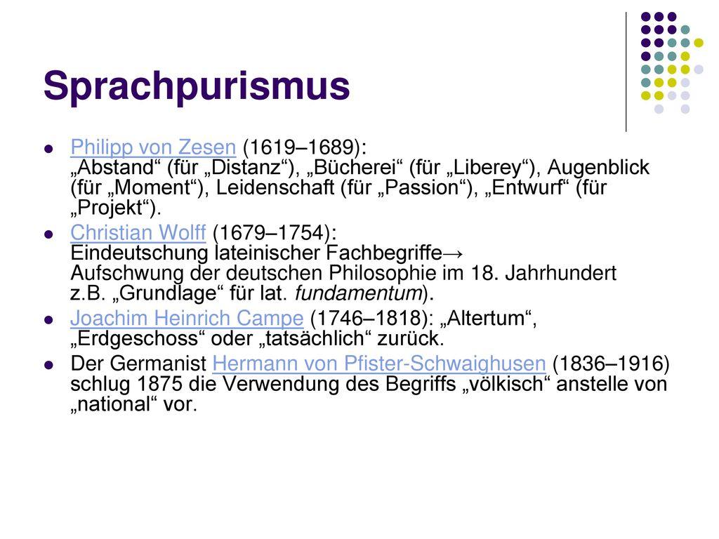 Sprachpurismus
