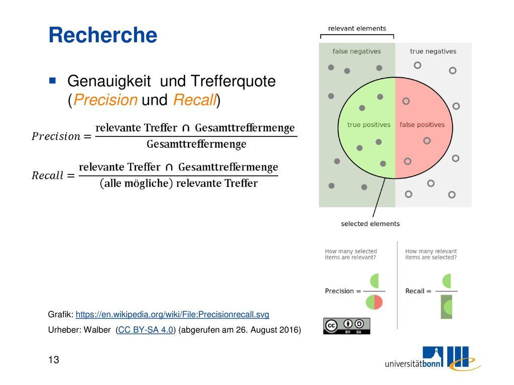 Datenbanken - Recherche