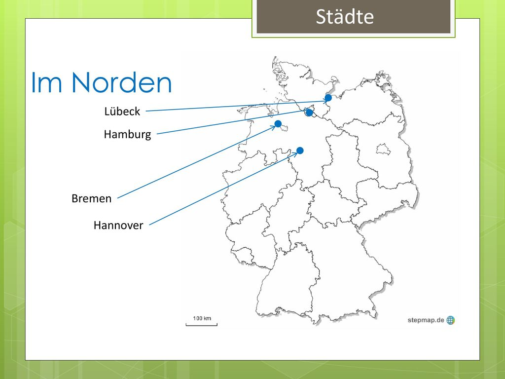 Städte Im Norden Lübeck Hamburg Bremen Hannover