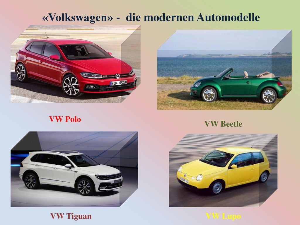 «Volkswagen» - die modernen Automodelle