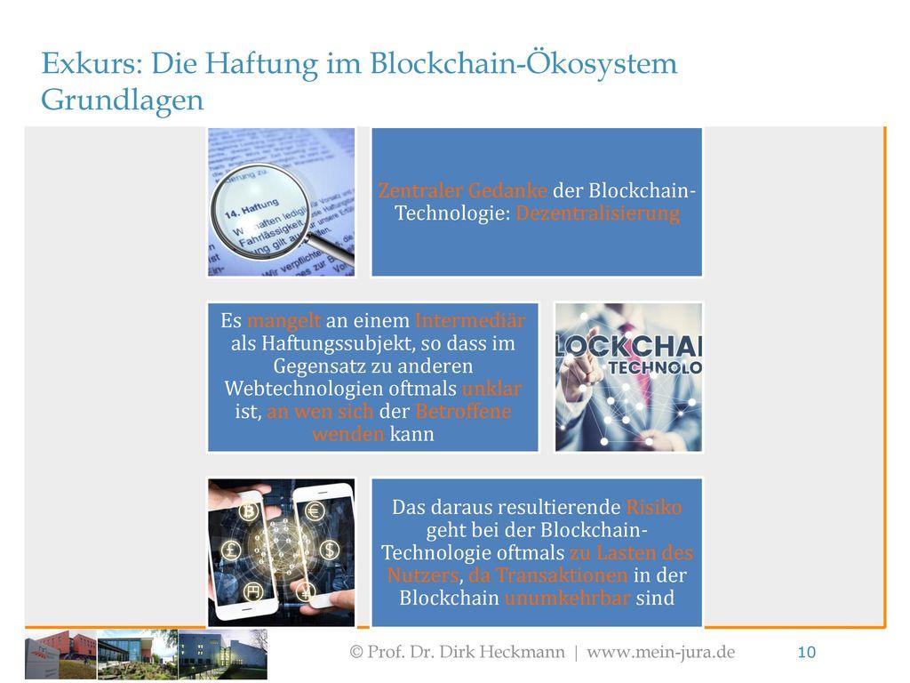 Zentraler Gedanke der Blockchain-Technologie: Dezentralisierung