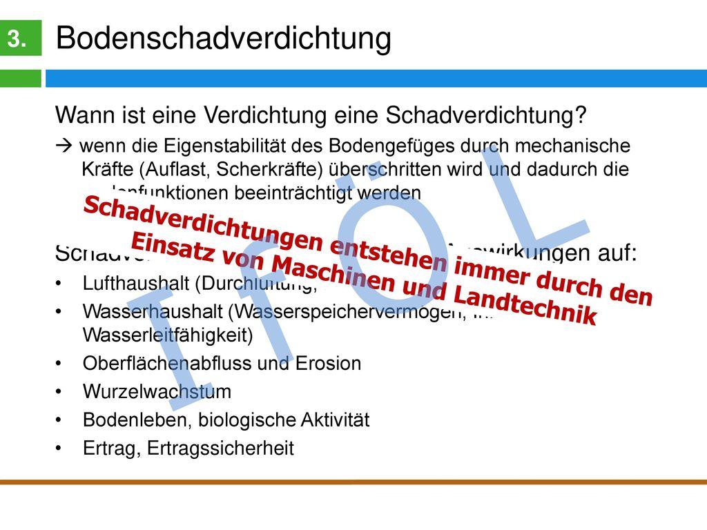 I f Ö L Bodenverdichtung 3.
