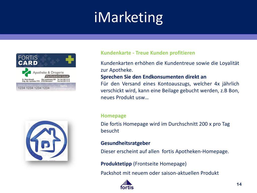 iMarketing Kundenkarte - Treue Kunden profitieren