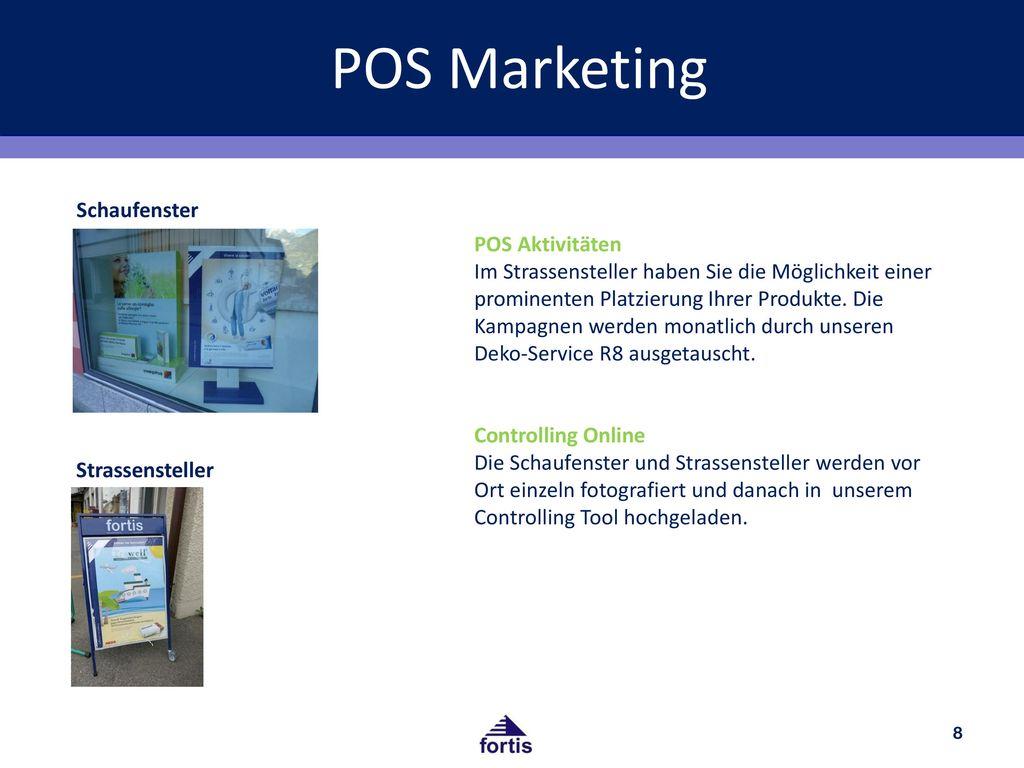 POS Marketing Schaufenster POS Aktivitäten