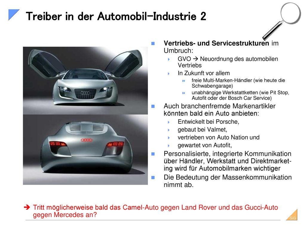 Treiber in der Automobil-Industrie 2