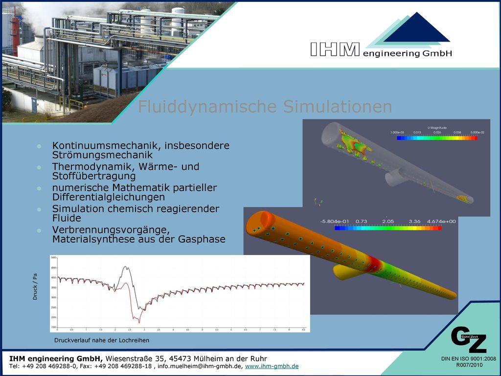 Fluiddynamische Simulationen