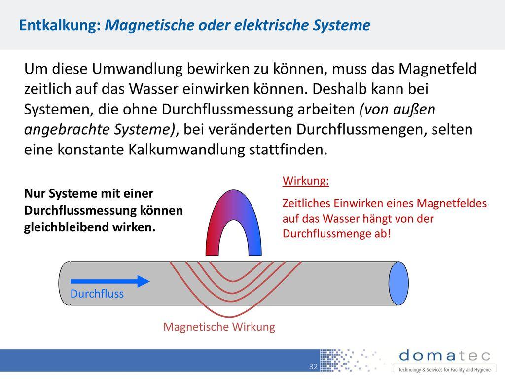 Entkalkung: Magnetische oder elektrische Systeme