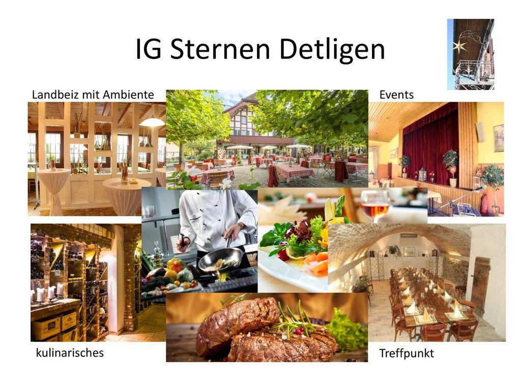 IG Sternen Detligen Landbeiz mit Ambiente Events kulinarisches
