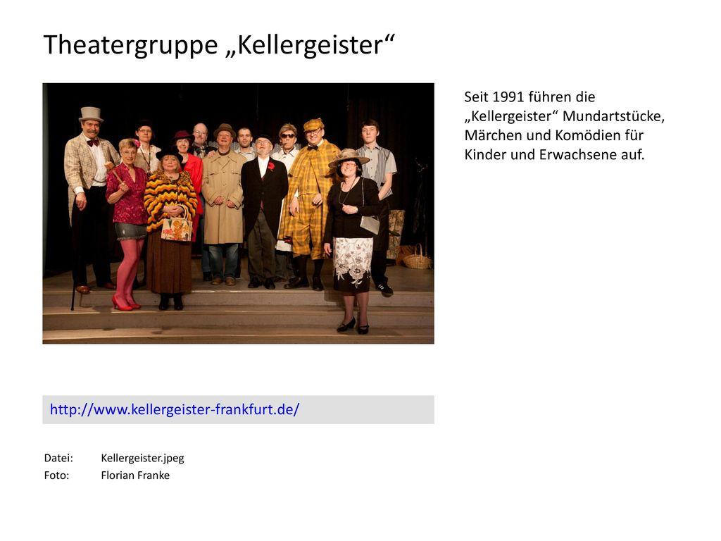 """Theatergruppe """"Kellergeister"""