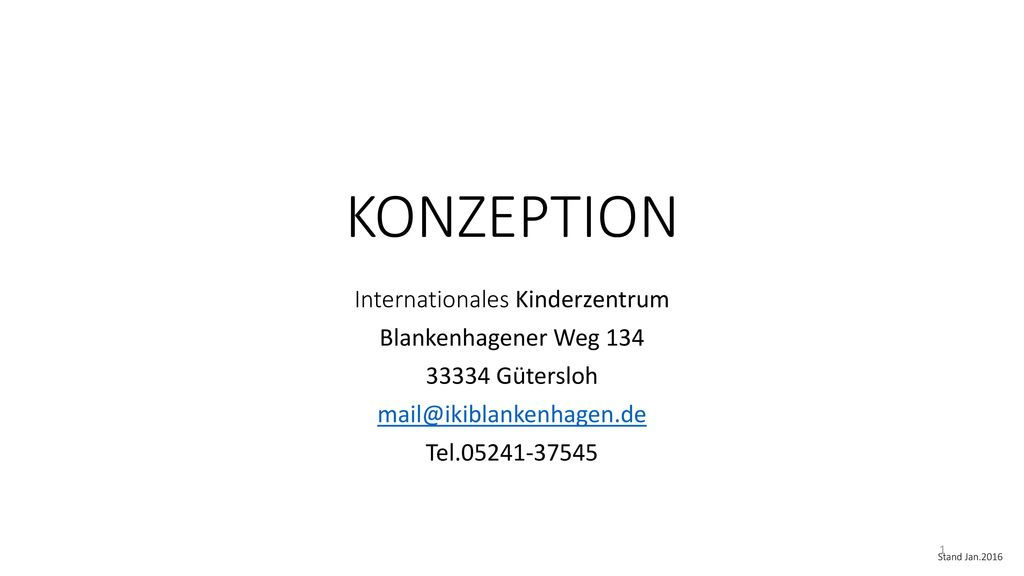 Internationales Kinderzentrum