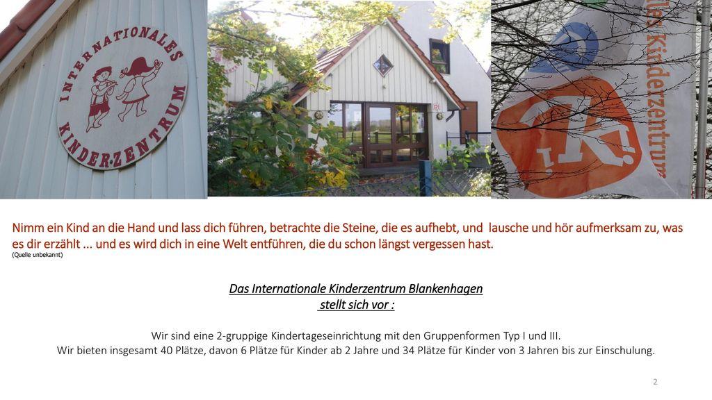 Das Internationale Kinderzentrum Blankenhagen