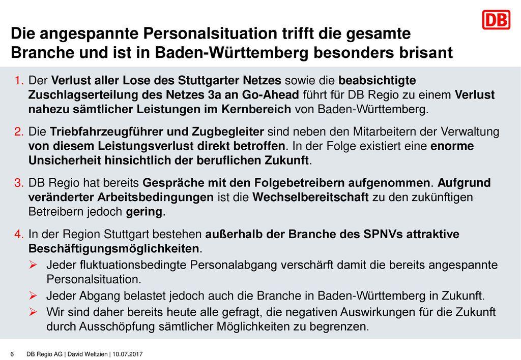 Die angespannte Personalsituation trifft die gesamte Branche und ist in Baden-Württemberg besonders brisant
