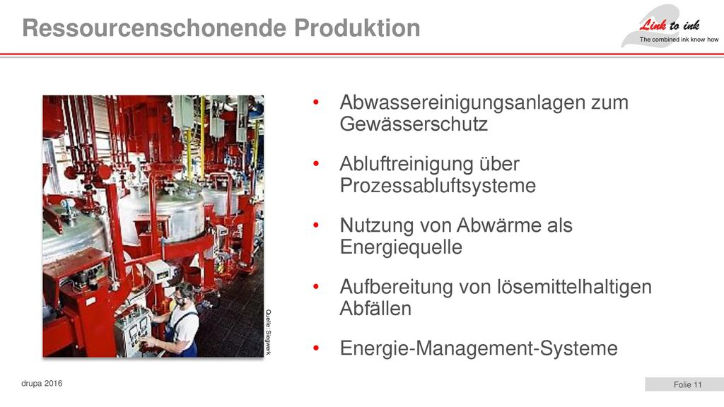 Ressourcenschonende Produktion