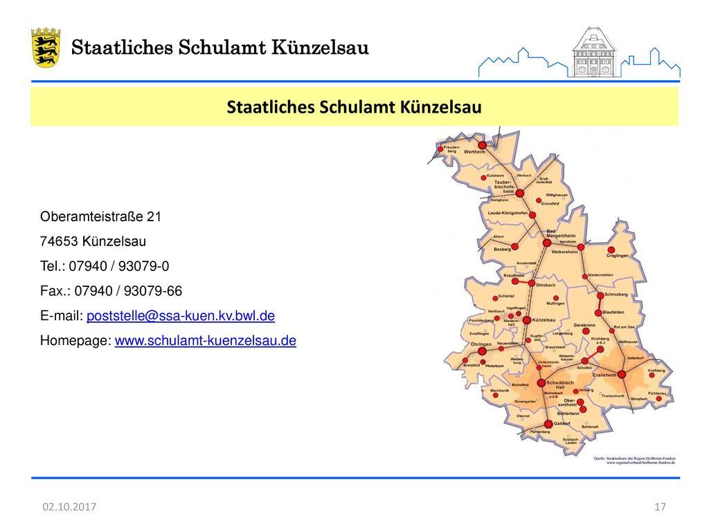 Staatliches Schulamt Künzelsau