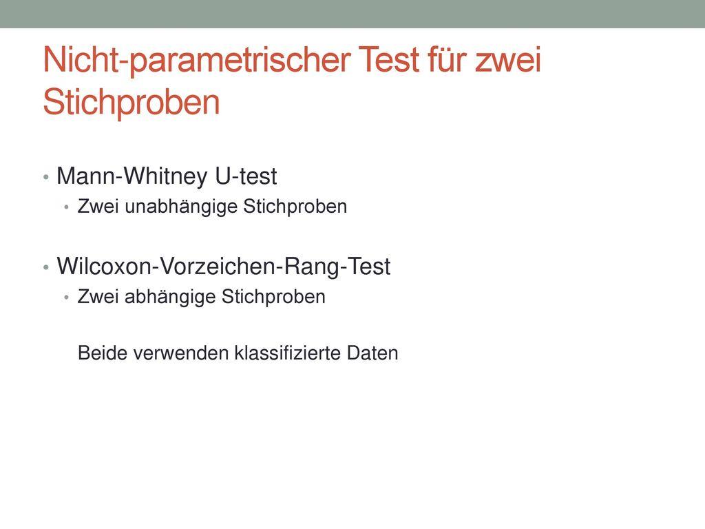 Die Annahmen des t-Tests