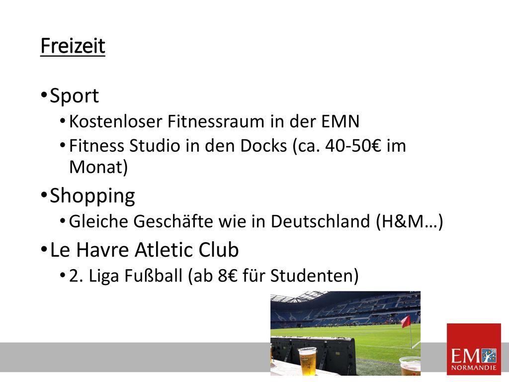 Freizeit Sport Shopping Le Havre Atletic Club