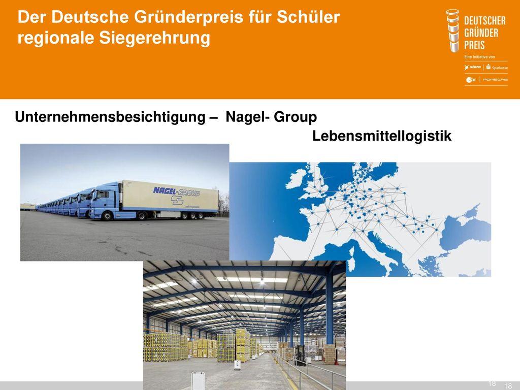 Der Deutsche Gründerpreis für Schüler regionale Siegerehrung