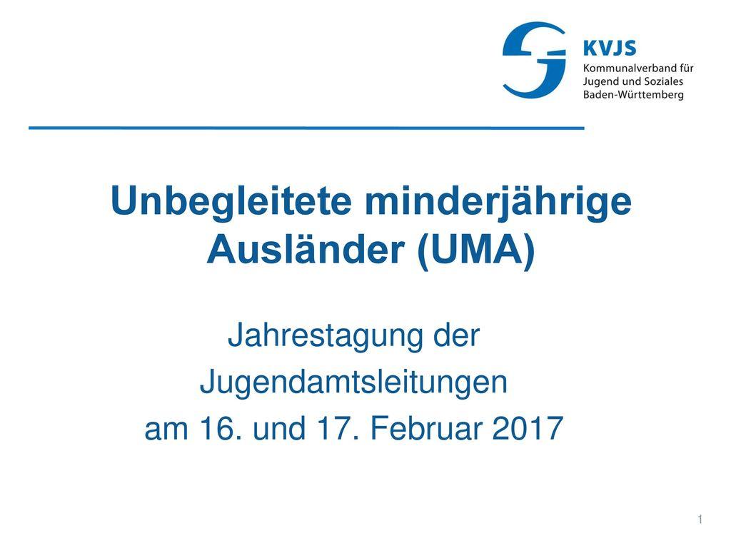 Unbegleitete minderjährige Ausländer (UMA)