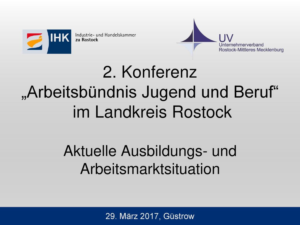 Bezirk der IHK zu Rostock heute