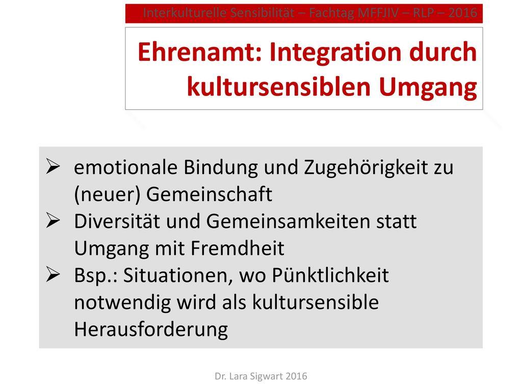 Integration: Was verstehen wir darunter
