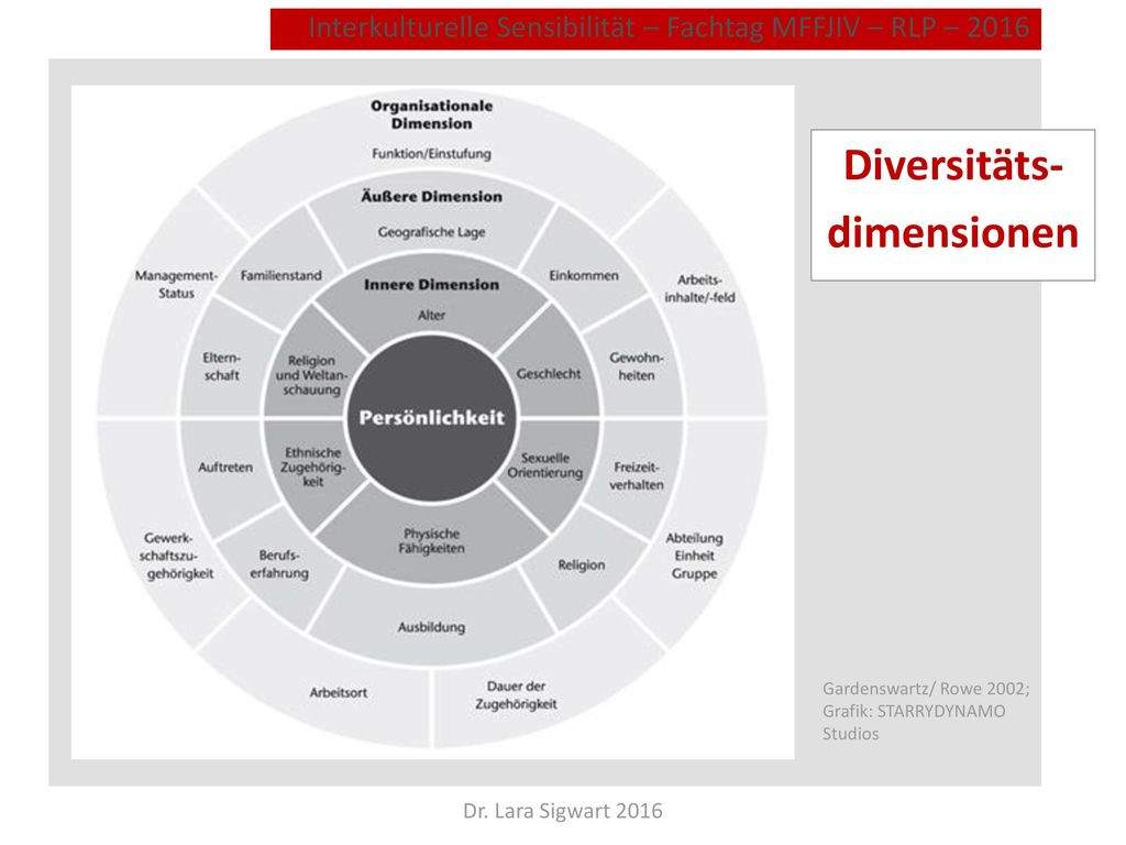 Diversitäts- dimensionen