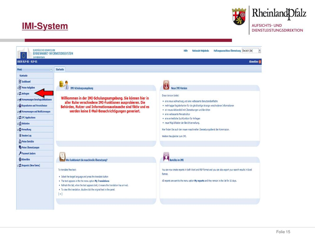 IMI-System