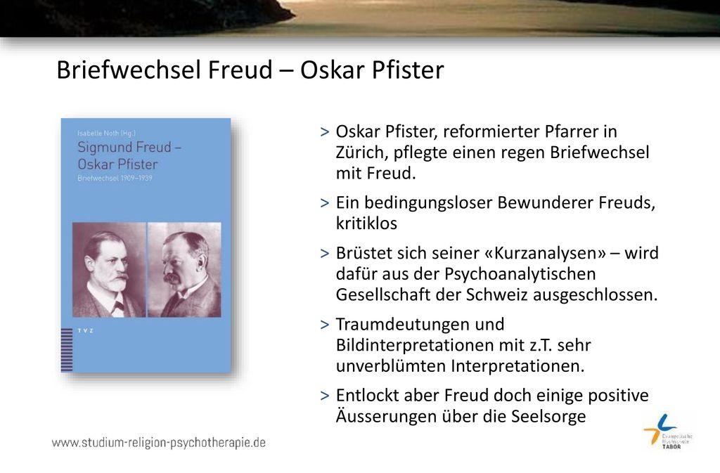 Briefwechsel Freud – Oskar Pfister