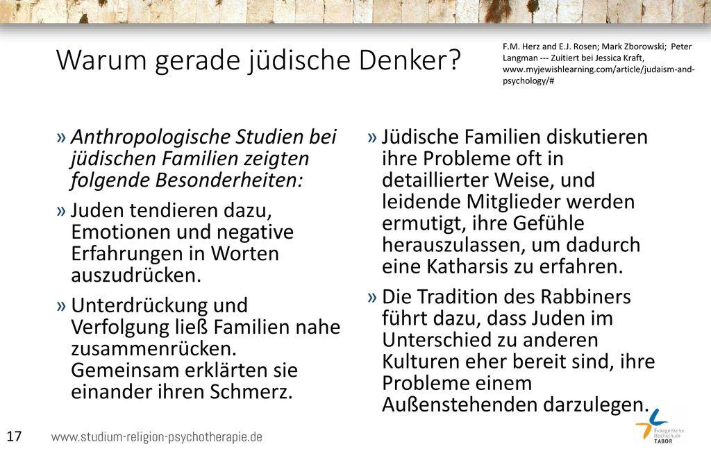 Warum gerade jüdische Denker
