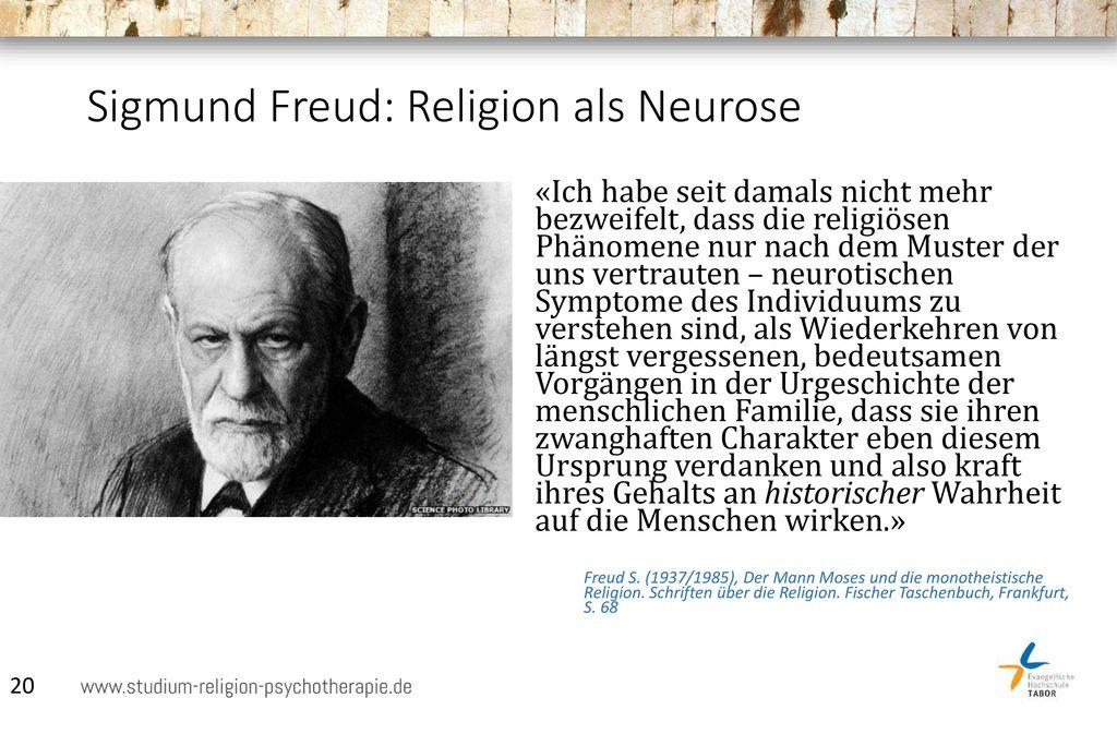 Sigmund Freud: Religion als Neurose