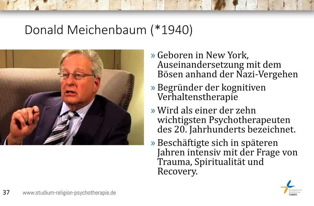 Donald Meichenbaum (*1940)