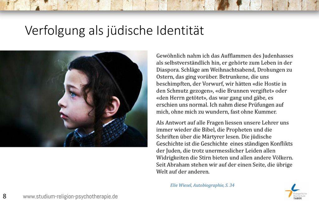 Verfolgung als jüdische Identität