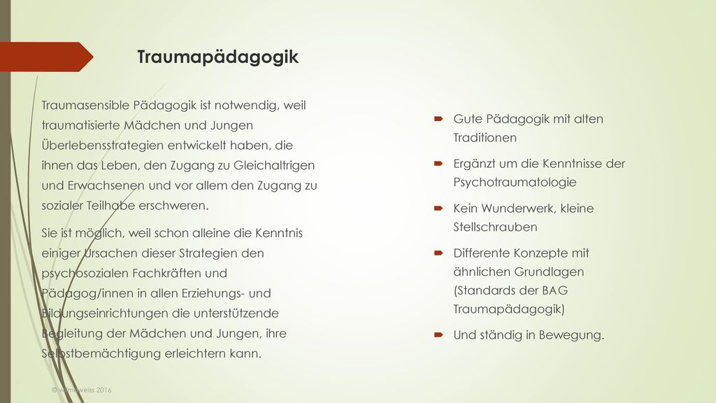 Traumapädagogik