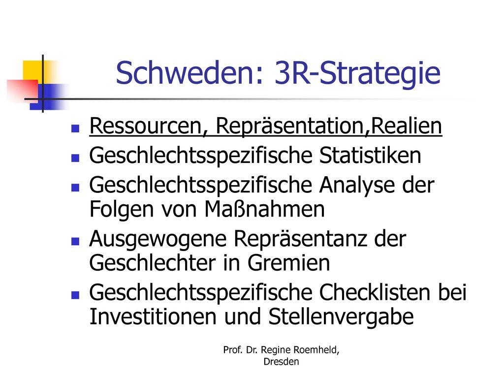Schweden: 3R-Strategie