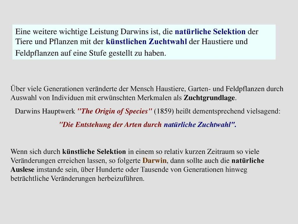 Uber Entstehung Arten Charles Darwin Download Images - Ebooks German ...