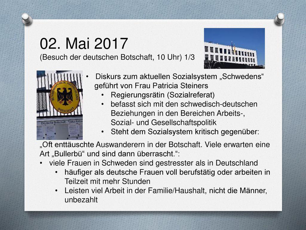 02. Mai 2017 (Besuch der deutschen Botschaft, 10 Uhr) 1/3