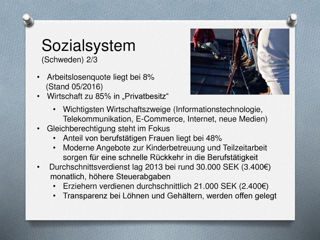 Sozialsystem (Schweden) 2/3