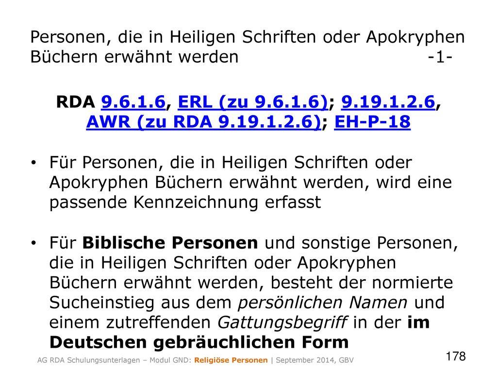 Personen, die in Heiligen Schriften oder Apokryphen Büchern erwähnt werden -1-
