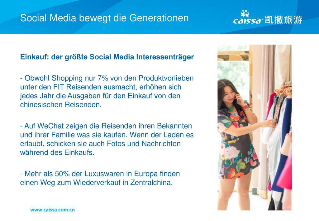 Social Media bewegt die Generationen