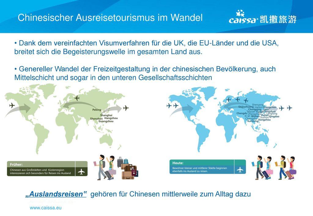 """""""Auslandsreisen"""" gehören für Chinesen mittlerweile zum Alltag dazu"""