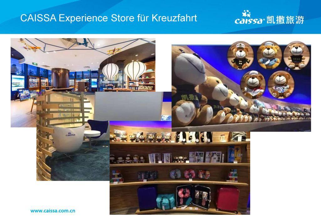 CAISSA Experience Store für Kreuzfahrt