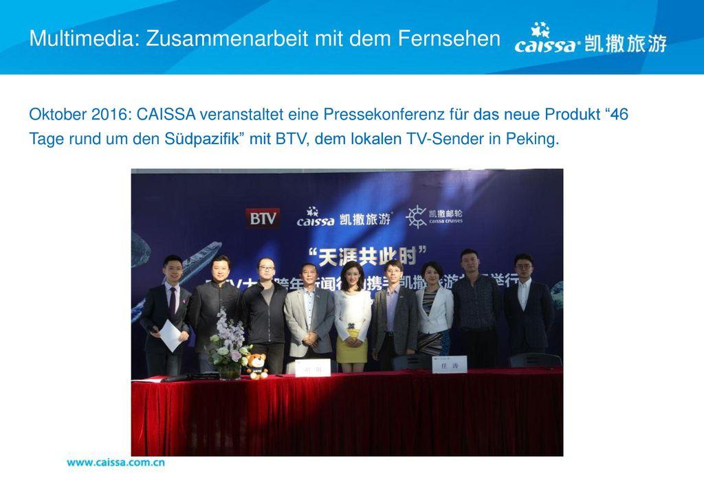 Multimedia: Zusammenarbeit mit dem Fernsehen