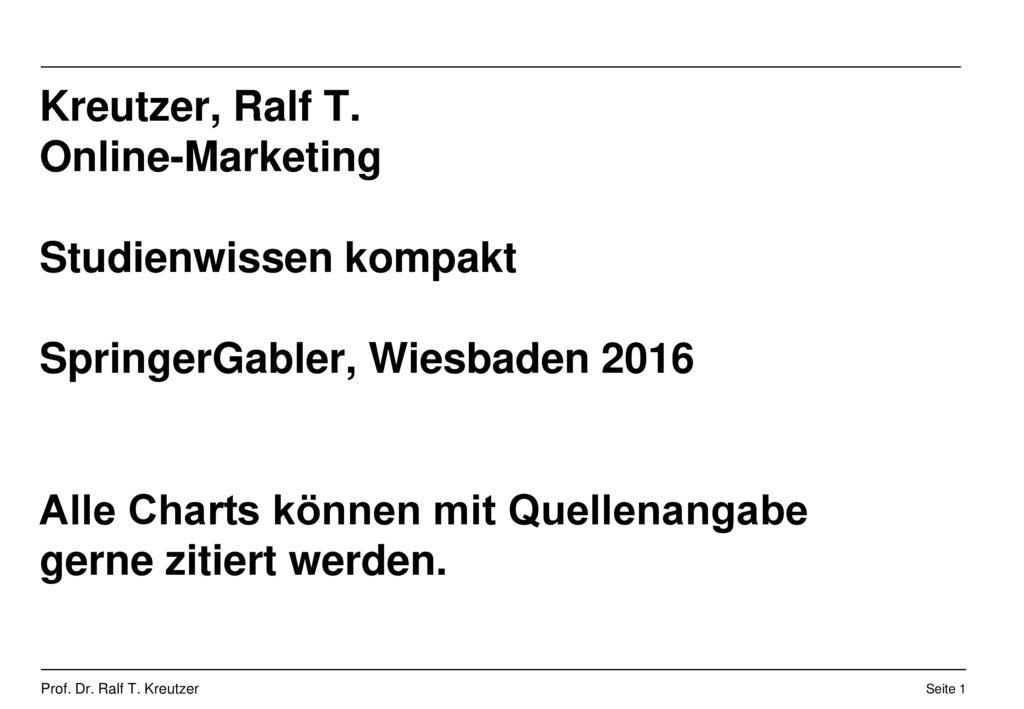 Kreutzer, Ralf T.
