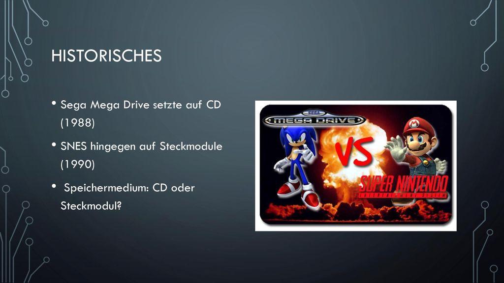 Historisches Sega Mega Drive setzte auf CD (1988)