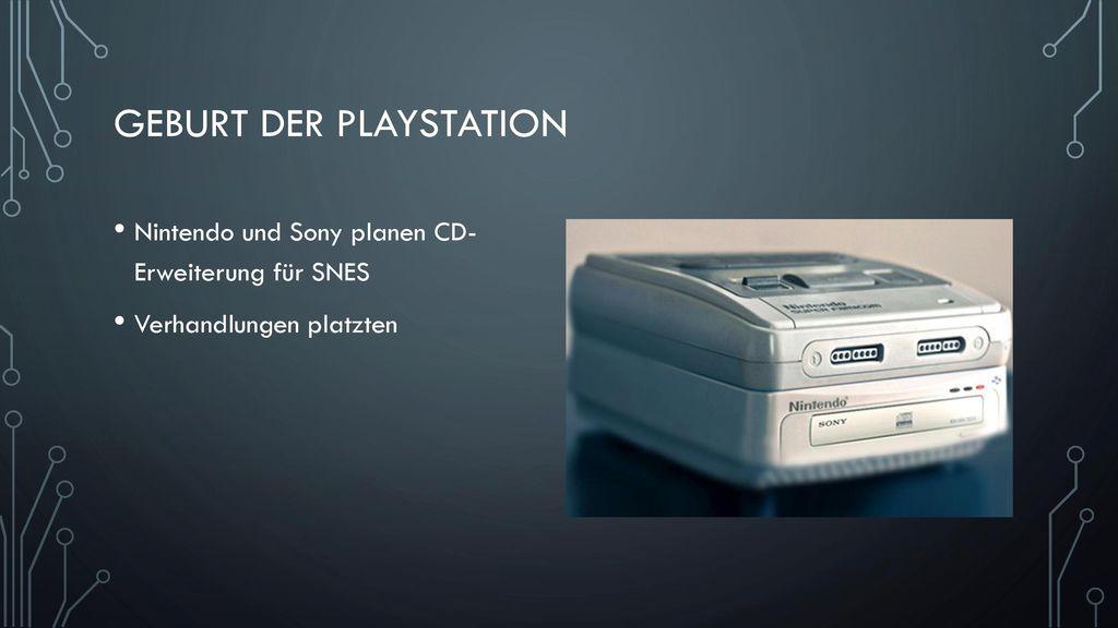 Geburt der Playstation
