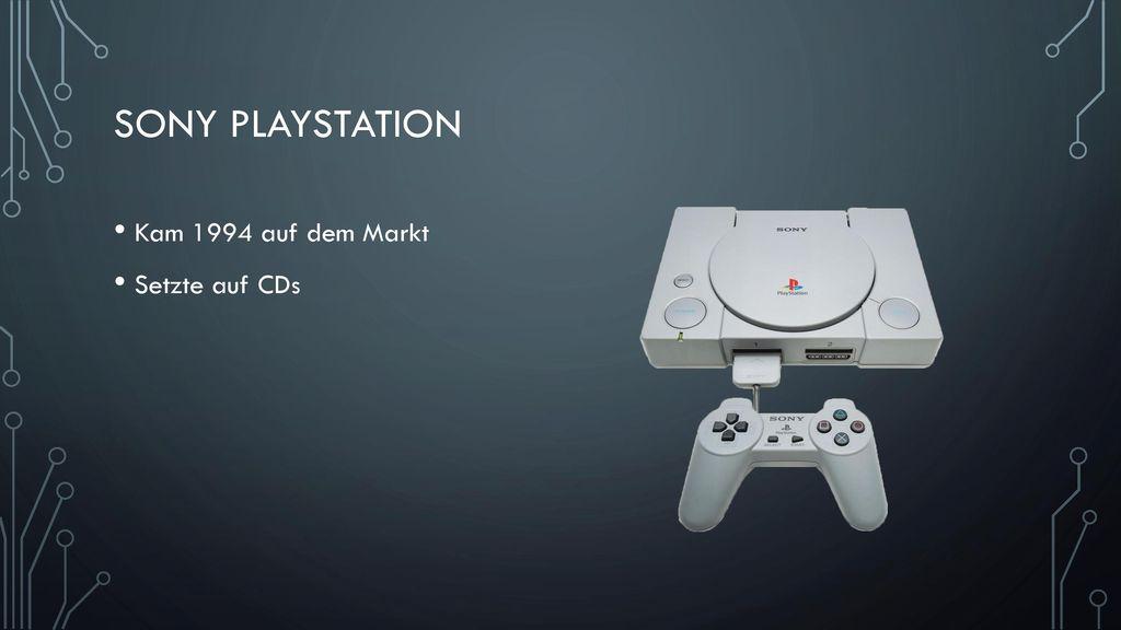 Sony Playstation Kam 1994 auf dem Markt Setzte auf CDs
