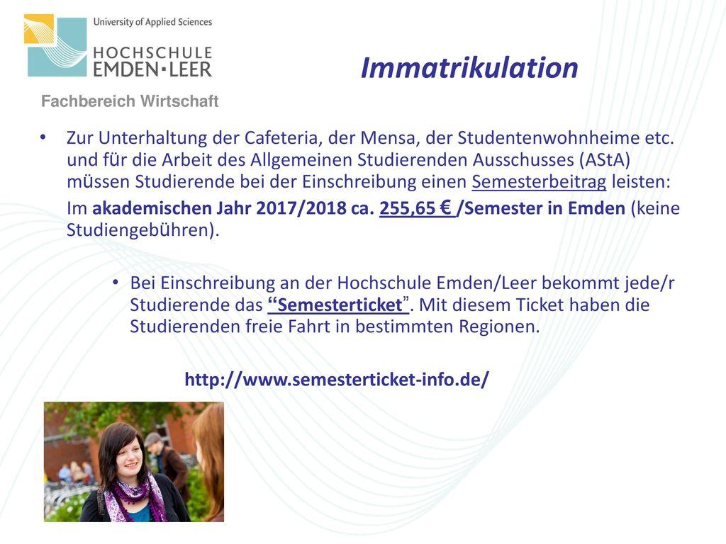 Immatrikulation