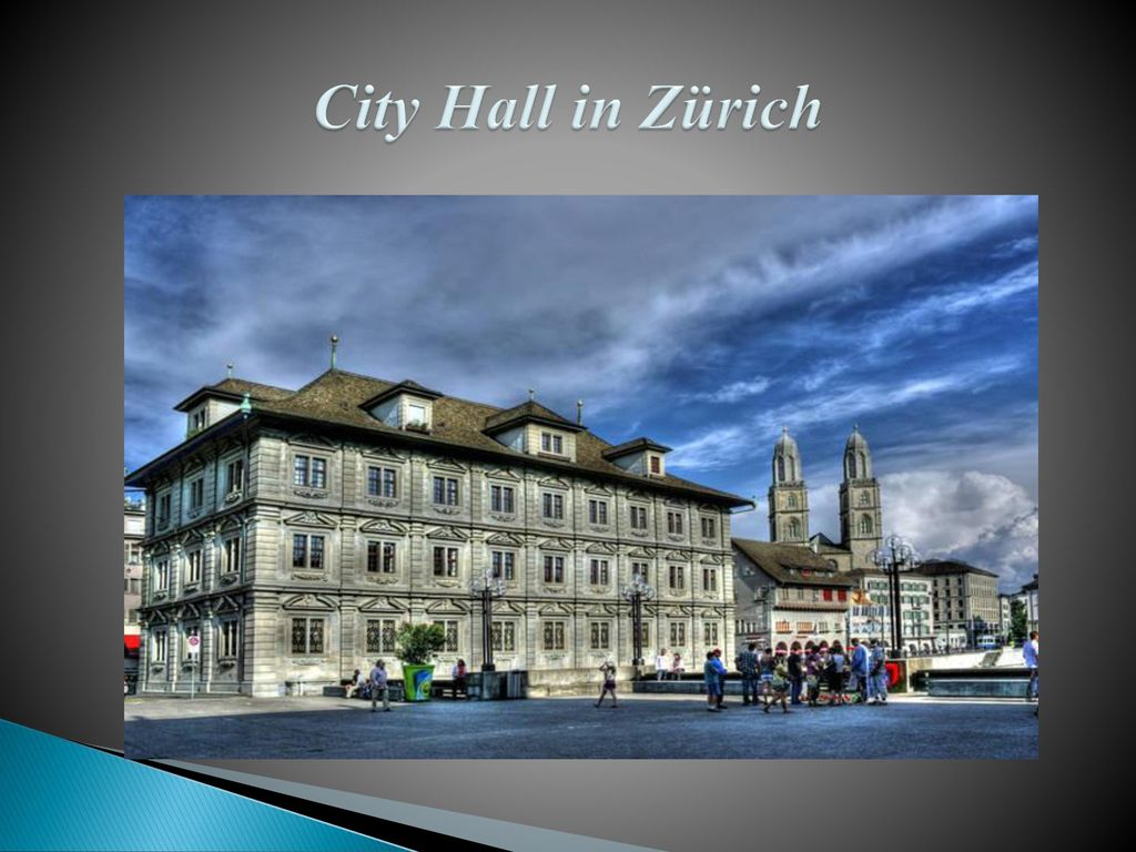 City Hall in Zürich